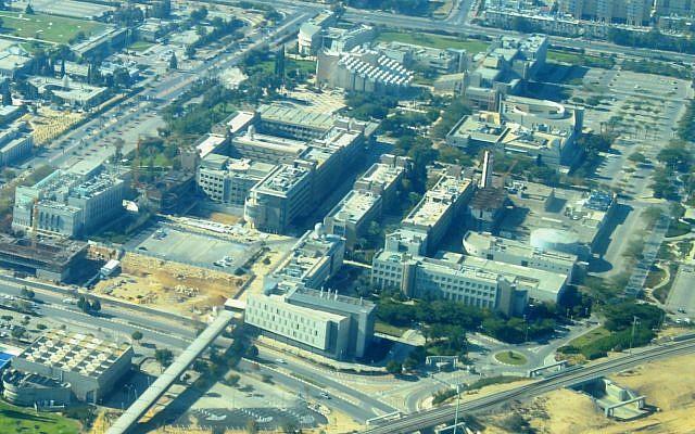 Le campus de l'université Ben Gourion du Néguev. (Crédit photo : Wikipédia/CC BY-SA 3.0)