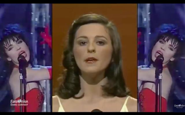 Capture d'écran de la vidéo de l'artiste israélien Kutiman qui a fait un montage vidéo avec des images des 63 éditions de l'Eurovision. (Capture d'écran : YouTube)