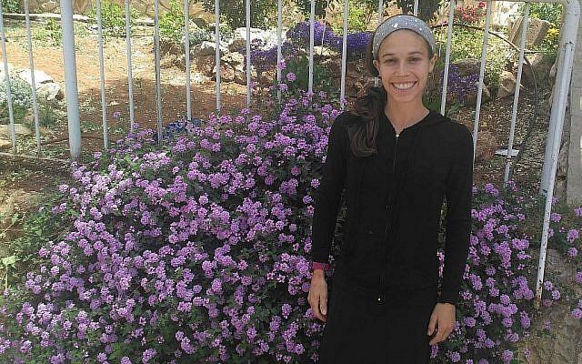 Beatie Deutsch à Jérusalem, le 7 mai 2019. (Crédit : Michael Bachner/Times of Israel)