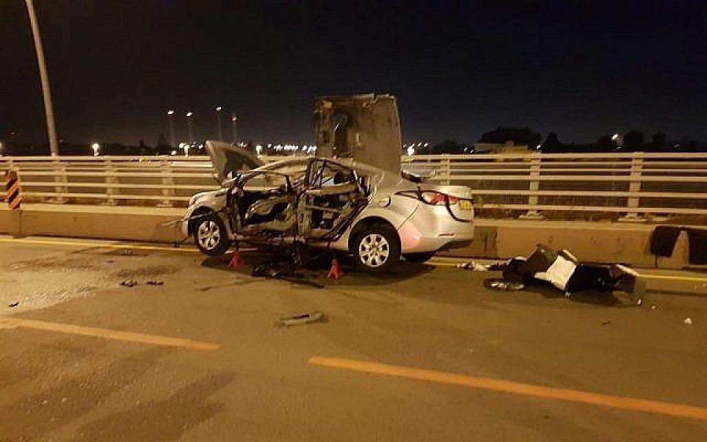 Un conducteur tué dans une voiture piégée en banlieue de Tel Aviv