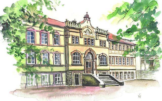 Le lycée Jean-de-Pange de Sarraguemines. (Crédit photo : Association des anciens du Lycée Jean De Pange / Facebook)