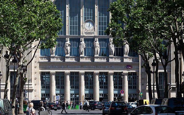 La Gare du nord à Paris. (Crédit : Facebook)