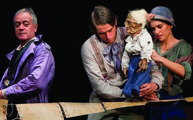 """Le théâtre Khan de Jérusalem présente """"Tehila"""" de S.Y. Agnon (Crédit : Yael Ilan)"""
