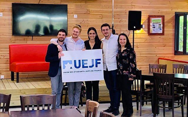 A l'occasion de son 36e Congrès, organisé du 13 au 16 juin dernier, l'Union des étudiants juifs de France a élu son nouveau bureau exécutif et sa nouvelle présidente. (Crédit photo : Union des étudiants juifs de France / Facebook)