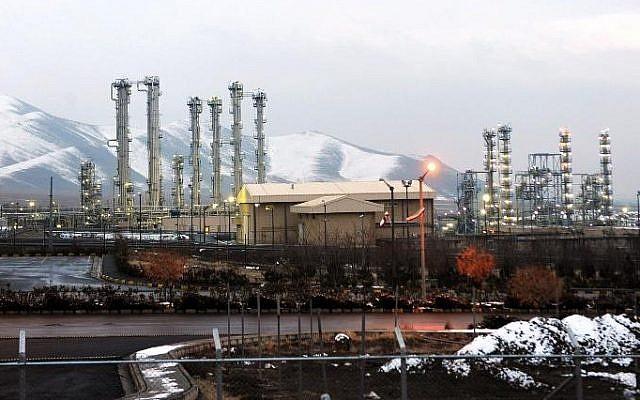 Réacteur à eau lourde d'Arak en Iran. (Hamid Foroutan/ISNA/AFP)