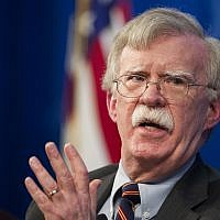 John Bolton, conseiller américain à la sécurité nationale, dévoile la stratégie de l'administration Trump pour l'Afrique à la Heritage Foundation à Washington, le 13 décembre 2018. (Cliff Owen/AP)