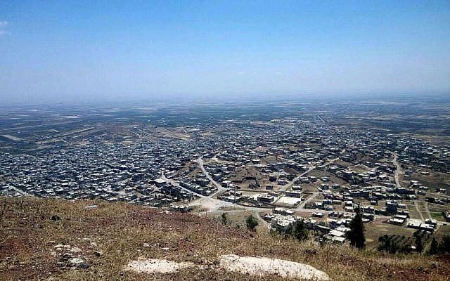 A titre d'illustration. Un raid aérien de Tsahal frappe des cibles militaires syriennes, le 1er juin 2019. (Armée israélienne)