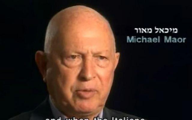 Micha Maor (Crédit : capture écran / YouTube)