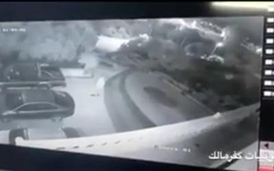 Capture d'écran d'un enregistrement de l'incident.