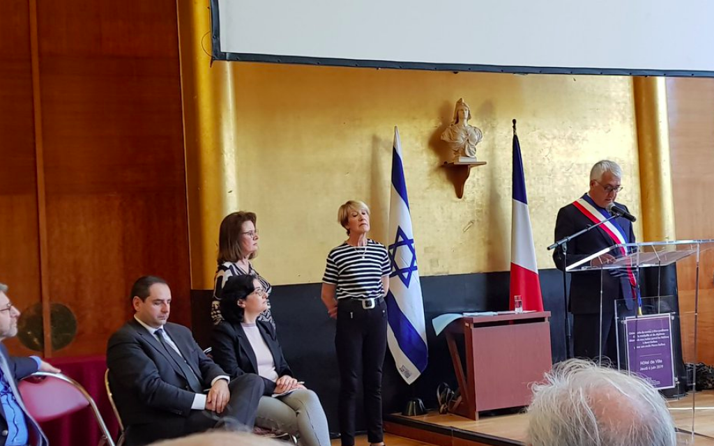 Boulogne : cérémonie en l'hommage d'un fermier devenu Juste parmi les nations