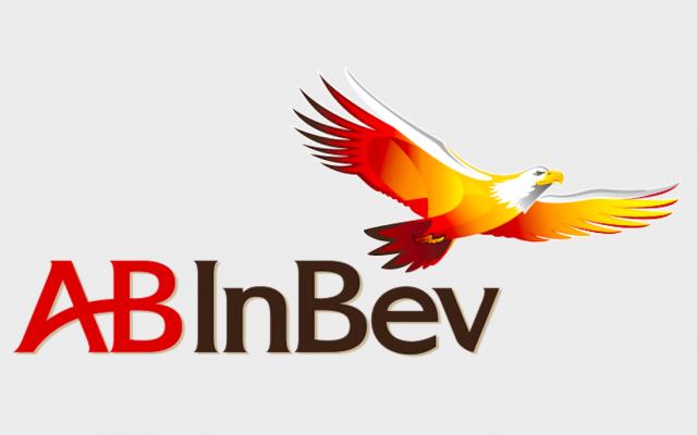 Le logo du premier brasseur mondial, Anheuser-Busch InBev.