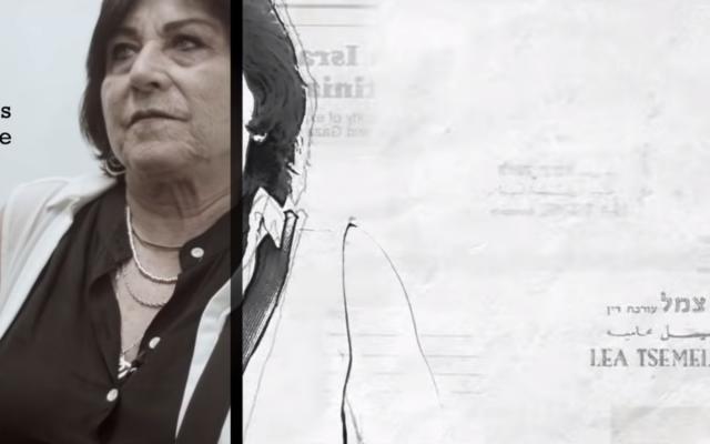 """L'avocate Lea Tsemel dans la bande annonce du filme """"Advocate."""" (Capture d'écran YouTube)"""