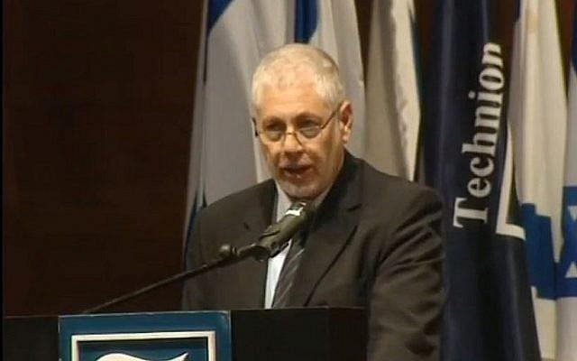Le professeur Uri Sivan (Capture d'Ecran : YouTube)
