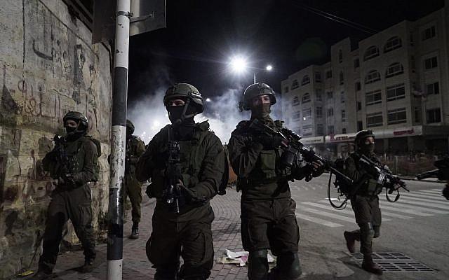 A titre d'illustration. Des soldats israéliens participent à des opérations en Cisjordanie. (Armée israélienne)