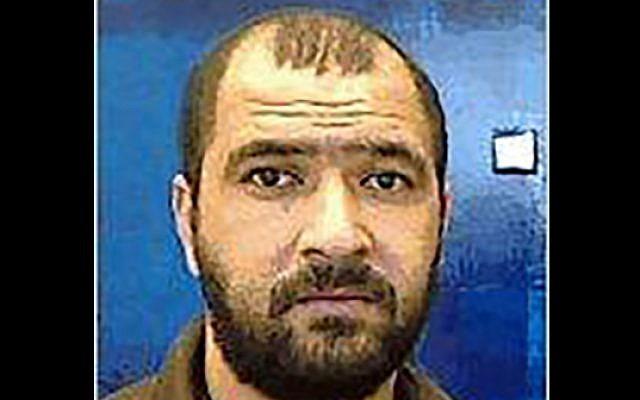 Thaer Shafut, un ressortissant jordanien accusé par Israël d'être un espion iranien le 20 juin 2019. (Crédit : Shin Bet)