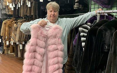 La famille de Marc Kaufman est dans le commerce de la fourrure à New York depuis cinq générations. (Josefin Dolsten JTA)