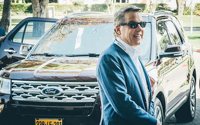 Bill Ford, le président exécutif de Ford Motor Company à la conférence EcoMotion à Tel Aviv, le 11 juin 2019. (Asaf Kliger)