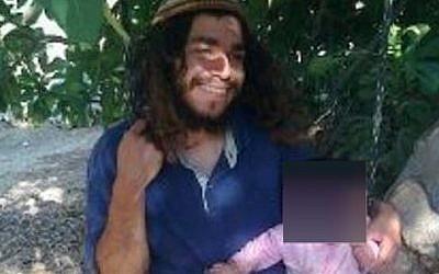 Amiram Ben-Uliel a été inculpé le 3 janvier 2016, pour les assassinats de 3 membres de la famille Dawabsha à Douma. (Autorisation)