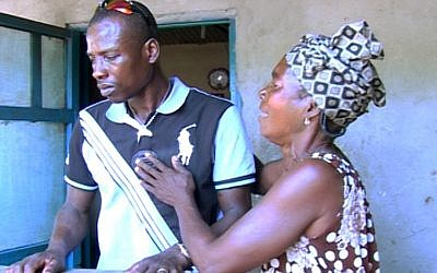 Image de 'A Fish Tale,' documentaire au sujet d'une famille de réfugiés africains en Israël et de leur avenir (Autorisation : Emanuel Meir)