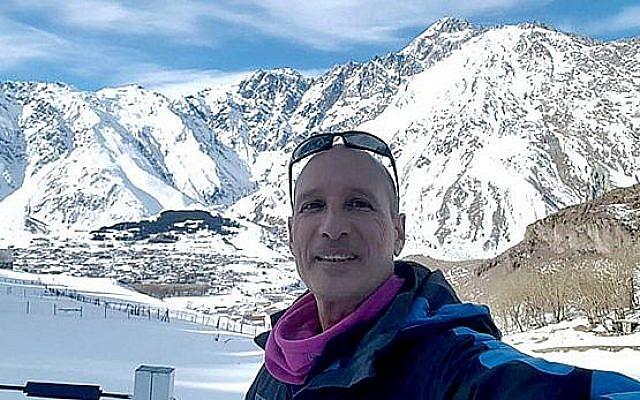 Le guide touristique israélien Uri Bar sur une photo non-datée (Autorisation de la famille)