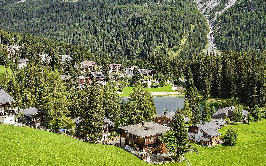 Arosa en été offre des vues magnifiques. (Olaf Protze/LightRocket via Getty Images via JTA)