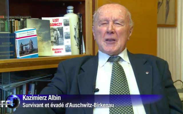 Kazimierz Albin (Crédit : capture d'écran YouTube)