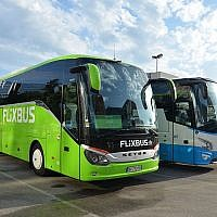 Un autocar de la compagnie FlixBus, en gare de Lyon Part-Dieu. (Crédit photo : Florian Fèvre / Mobilys /Creative Commons 4.0 / Wikipédia)