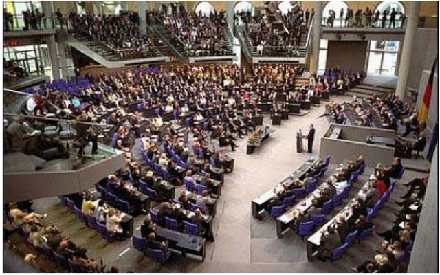 Le Bundestag allemand. (Courtesy Whitehouse)
