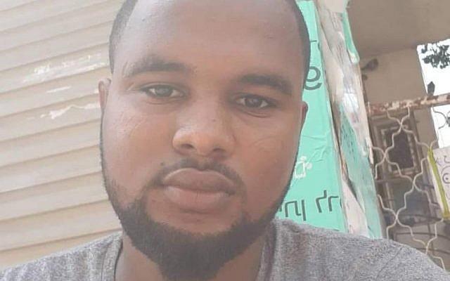 Solomon Tekah, un Israélien d'origine éthiopienne abattu par un policier qui n'était pas en service, à Kiryat Haim, le 30 juin 2019. (Autorisation)