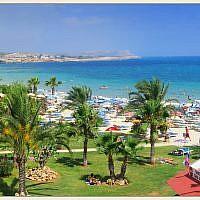 La station balnéaire d'Ayia Napa dans le sud-est de Chypre. (Wikipedia/Vitaly Lischenko/CC BY-SA)