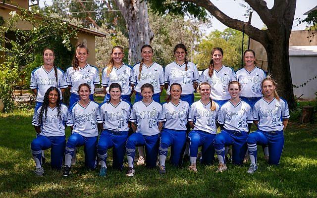 Israeli softball creates women's dream team for 2020 Olympics