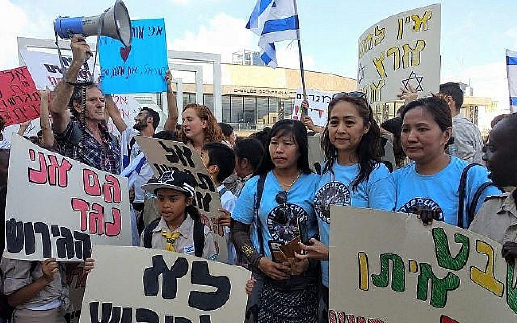 Un couple de Philippins et leurs filles nées en Israël bientôt expulsés