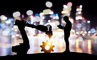 Image illustrative de la technologie assistée par robot, industrie 4.0, intelligence artificielle. (Jiraroj Praditcharoenkul ; iStock by Getty Images)