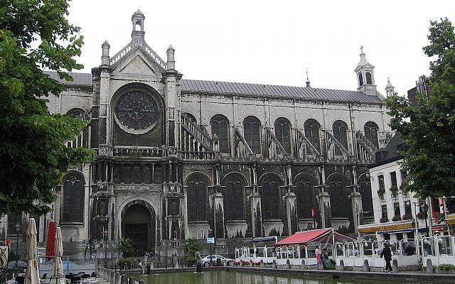 L'église Sainte-Catherine de Bruxelles, en Belgique. (Crédits photo : Domaine public / Grentidez / Wikimedia)
