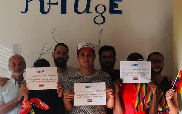 L'association française «Le Refuge», équivalente du Beit Dror en Israël, a rendu hommage à l'adolescent visé par une tentative d'assassinat le 26 juillet dernier à Tel Aviv. (Crédits photo : Le Refuge / Facebook)