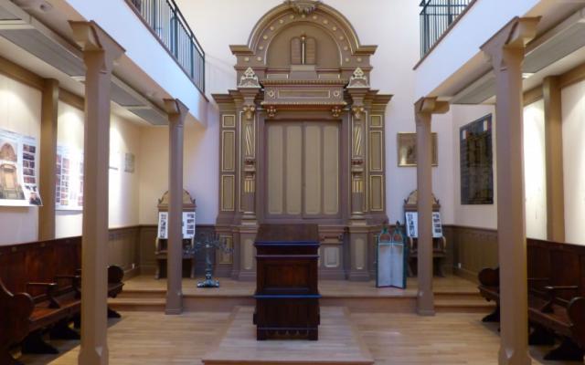 L'ancienne synagogue Beit Yacov de Clermont-Ferrand. (Crédit photo : Clermont Auvergne Tourisme)