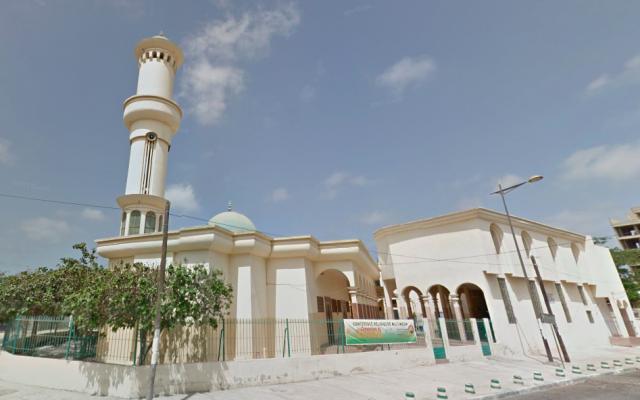La mosquée du Point E, à Dakar. (Crédit photo : Google Maps)