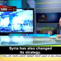 Elwalid Succariyeh, député du Hezbollah, dans une interview donnée le 13 août dernier à la chaine libanaise Al-Manar, proche du groupe terroriste. (Crédit : capture d'écran Al-Manar / MEMRI)