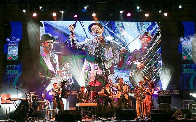 Le Festival Klezmer 2018 à in Safed (Crédit : David Cohen/Flash 90)