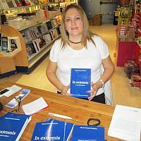 L'écrivaine Marie-Chantal Guilmin. (Crédit : mariechantalguilmin.eklablog.com)