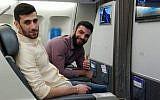 Hassan Yousef Zabeeb, à gauche, et Yasser Ahmad Daher, deux Libanais membres du Hezbollah tués dans une frappe aérienne isralienne destinée à déjouer une attaque de drone. Photo non datée. (Crédit : armée israélienne)