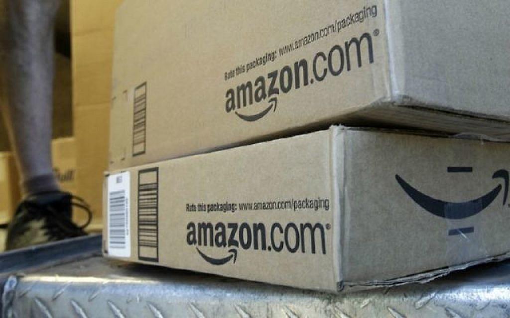 Amazon lance son interface en hébreu et propose la livraison gratuite