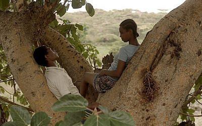"""Une capture d'écran du film """"Le Figuier"""" par le réalisateur israélo-éthiopien Aalam-Warqe Davidian. (Crédit: Menemsha Films)"""