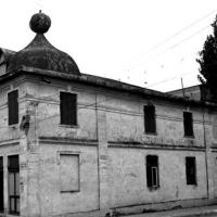 La synagogue à Săveni, Roumanie en 1996. (Dmitry Vilensky/Centre pour l'art juif via JTA)