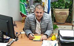 Yisrael Goldstein, chef du syndicat national KKL-JNF. (Facebook)