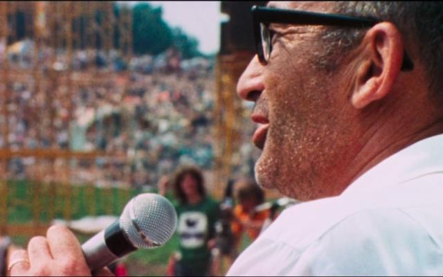Le laitier juif Max Yasgur était propriétaire des terres, dans l'Etat de New York, où a eu lieu le festival de Woodstock(Capture d'écran)