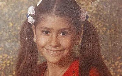 Nava Elimelech, 12 ans, assassinée en 1982. (Crédit : Yossi Aloni)
