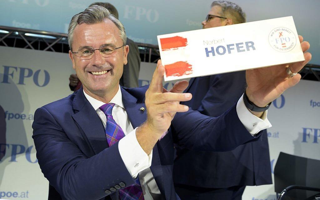 Autriche : Norbert Hofer élu à la tête du FPÖ d'extrême droite