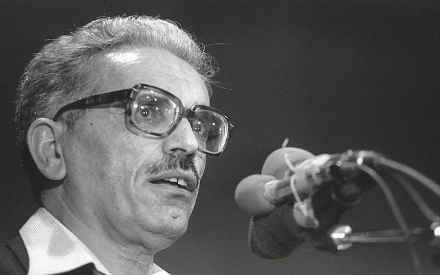 Yisrael Kessar en 1984. (Crédit : Ya'akov Sa'ar/GPO)