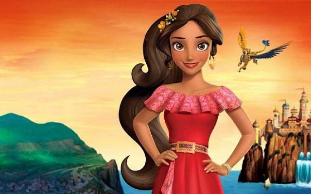 La princesse «Elena d'Avalor». (Crédit : Disney)